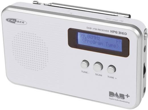 DAB+ Kofferradio Caliber Audio Technology HPG316D DAB+, UKW wiederaufladbar Weiß