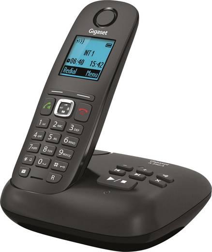 Gigaset A540A Schnurloses Telefon analog Anrufbeantworter, Freisprechen Anthrazit, Schwarz