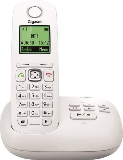 Schnurloses Telefon analog Gigaset A540A Anrufbeantworter, Freisprechen Weiß, Grau