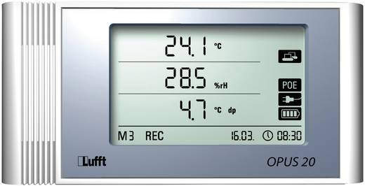 Multi-Datenlogger Lufft 8120.01 Messgröße Temperatur, Luftfeuchtigkeit -20 bis 50 °C 10 bis 95 % rF