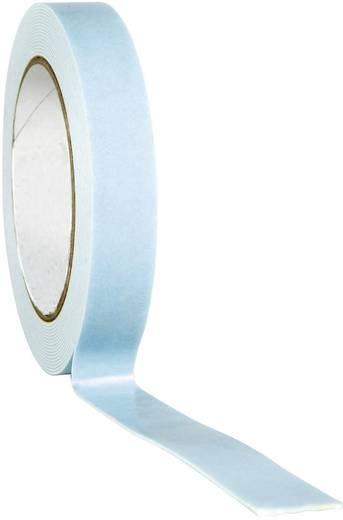 Doppelseitiges Montageband Weiß (L x B) 5 m x 25 mm TOOLCRAFT 1811B2505C 1 Rolle(n)