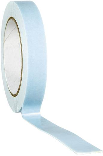 TOOLCRAFT 1811B1933C Doppelseitiges Montageband Weiß (L x B) 33 m x 19 mm 1 Rolle(n)