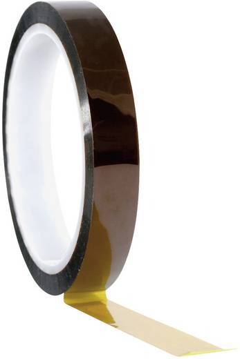 TOOLCRAFT 911XB2533C Klebeband Amber (L x B) 33 m x 25 mm 1 Rolle(n)