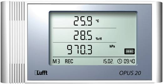 Multi-Datenlogger Lufft 8120.11 Messgröße Luftfeuchtigkeit, Temperatur, Luftdruck -20 bis +50 °C 10 bis 95 % rF 300 - 13