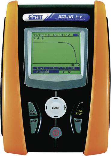 Photovoltaik-Multimeter digital HT Instruments SOLAR I-V Kalibriert nach: Werksstandard CAT II 1000 V, CAT III 300 V