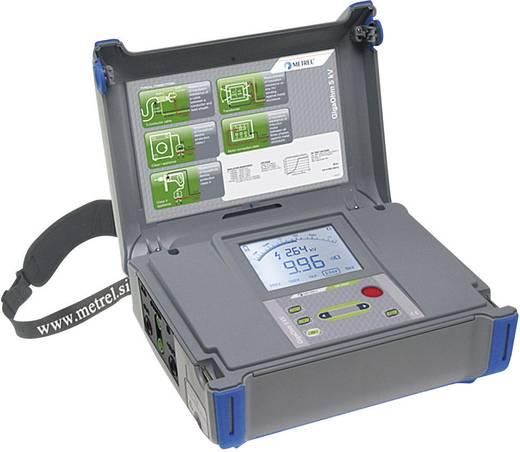 Metrel MI 3202 GigaOhm 5 kV Isolationsmessgerät, 250/500 V/1/2.5/5 kV 0.12 MΩ - 1 TΩ CAT IV 600 V Kalibriert nach ISO