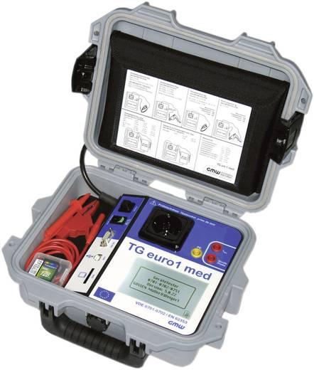 GMW TG euro 1 med Gerätetester DIN EN 62638/VDE 0701-0702, EN 62353/VDE 0751-1 (Typ B, BF, CF) Kalibriert nach ISO