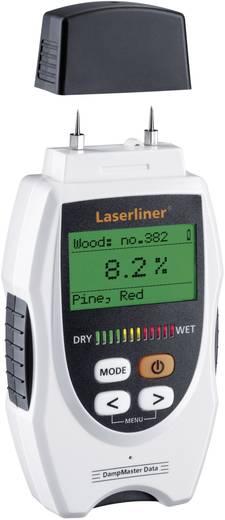 Materialfeuchtemessgerät Laserliner DampMaster Data Plus Messbereich Baufeuchtigkeit (Bereich) 0 bis 90 % vol Messbereich Holzfeuchtigkeit (Bereich) 0 bis 90 % vol