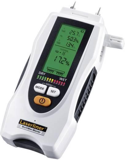 Materialfeuchtemessgerät Laserliner MultiWet-Master Messbereich Baufeuchtigkeit (Bereich) 0 bis 90 % vol Messbereich Hol