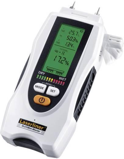 Laserliner MultiWet-Master Materialfeuchtemessgerät Messbereich Baufeuchtigkeit (Bereich) 0 bis 90 % vol Messbereich Hol