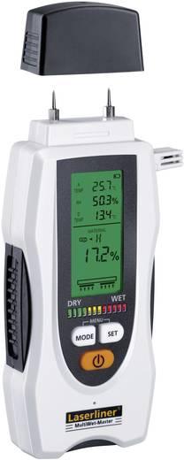 Materialfeuchtemessgerät Laserliner MultiWet-Master Messbereich Baufeuchtigkeit (Bereich) 0 bis 90 % vol Messbereich Holzfeuchtigkeit (Bereich) 0 bis 90 % vol