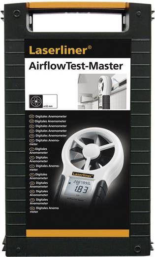 Anemometer Laserliner AirflowTest-Master 0.8 bis 30 m/s Kalibriert nach Werksstandard (ohne Zertifikat)