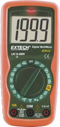 Hand-Multimeter digital Extech MN42 Kalibriert nach: Werksstandard (ohne Zertifikat) CAT III 600 V Anzeige (Counts): 20