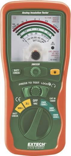 Extech 380320 1000/250/500 V 0 - 400MΩ CAT III 1000 V Kalibriert nach ISO