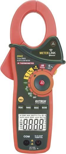 Stromzange, Hand-Multimeter digital Extech EX845 Kalibriert nach: Werksstandard IR-Thermometer CAT III 1000 V, CAT IV 600 V Anzeige (Counts): 4000