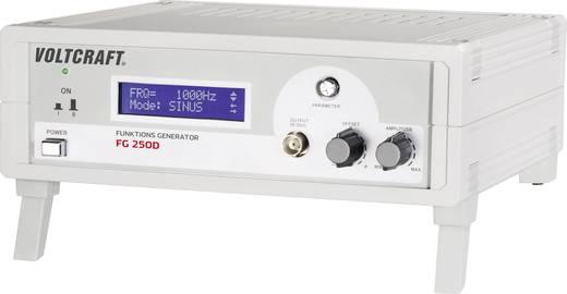 VOLTCRAFT® FG 250D 1-Kanal-Funktionsgenerator 1 Hz - 250 kHz Signal-Ausgangsform(en) Sinus, Dreieck, Rechteck (TTL) 230