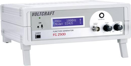 VOLTCRAFT® FG 250D 1-Kanal-Funktionsgenerator 1 Hz - 250 kHz Signal-Ausgangsform(en) Sinus, Dreieck, Rechteck (TTL)