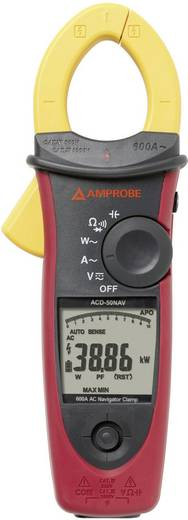 Beha Amprobe ACD-50NAV Stromzange, Hand-Multimeter digital Kalibriert nach: ISO CAT III 1000 V, CAT IV 600 V Anzeige (C