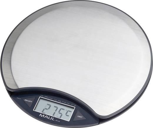 Briefwaage Maul MAULdisk Wägebereich (max.) 5 kg Ablesbarkeit 1 g batteriebetrieben Nickel