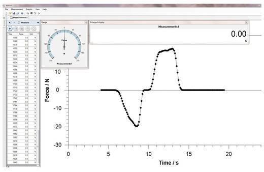 Sauter AFH FAST SOFTWARE Software AFH FAST für Kraftmessgeräte