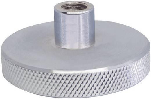Sauter Druckscheibe AC08 für Kraftmessgeräte und Kraftprüfstände, Metall-Druckscheibe für Drucktests bis 5000 N