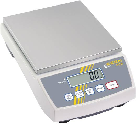 Präzisionswaage Kern PCB 6000-1 Wägebereich (max.) 6 kg Ablesbarkeit 0.1 g netzbetrieben, akkubetrieben Silber
