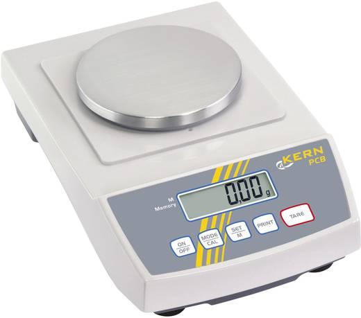 Präzisionswaage Kern PCB 200-2 Wägebereich (max.) 200 g Ablesbarkeit 0.01 g netzbetrieben, batteriebetrieben, akkubetrieben Silber