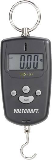 VOLTCRAFT Hängewaage Wägebereich (max.) 10 kg Ablesbarkeit 10 g Kalibriert nach ISO