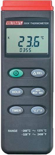 VOLTCRAFT K204 datalogger Temperatur-Messgerät -200 bis +1370 °C Fühler-Typ K Datenlogger-Funktion Kalibriert nach: ISO