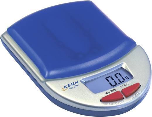 Taschenwaage Kern TEE 150-1 Wägebereich (max.) 150 g Ablesbarkeit 0.1 g batteriebetrieben Kalibriert nach ISO