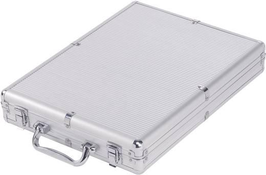 Paketwaage Maul express Wägebereich (max.) 120 kg Ablesbarkeit 50 g batteriebetrieben Silber