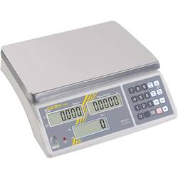 Počítacia váha Kern Max.váživosť 30 kg, Presnosť 2 g, strieborná, kalibrácia podľa ISO