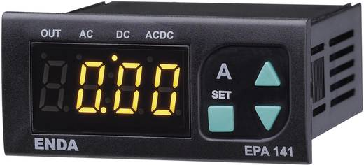 Enda EPA241A-R-230 SW Programmierbares LED-Amperemeter EPA241A-R ±5 A/AC/DC Einbaumaße 70 x 29 mm