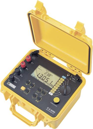 Chauvin Arnoux C.A 6250 Microohm-Meter, CAT III 50 V