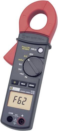 Chauvin Arnoux F62 Stromzange, Hand-Multimeter digital Kalibriert nach: ISO CAT III 600 V Anzeige (Counts): 10000