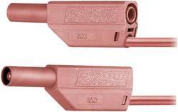 Bezpečnostné meracie káble Multicontact SLK425-E PVC, 0,5 m, zelené/žlté