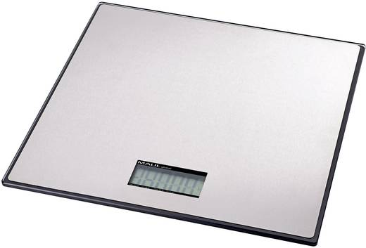 Paketwaage Maul 17125 Wägebereich (max.) 25 kg Ablesbarkeit 20 g batteriebetrieben Silber Kalibriert nach ISO