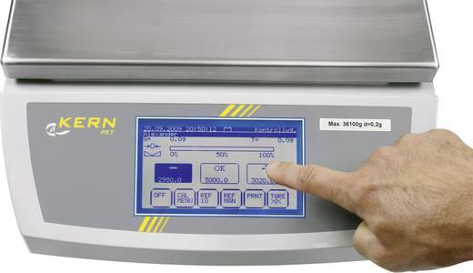 Tischwaage Kern FKT 6K0.02L Wägebereich (max.) 6.1 kg Ablesbarkeit 0.02 g netzbetrieben, batteriebetrieben