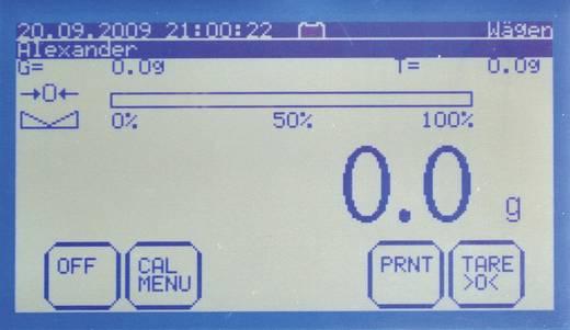 Tischwaage Kern 124235 Wägebereich (max.) 6.1 kg Ablesbarkeit 0.02 g netzbetrieben, batteriebetrieben