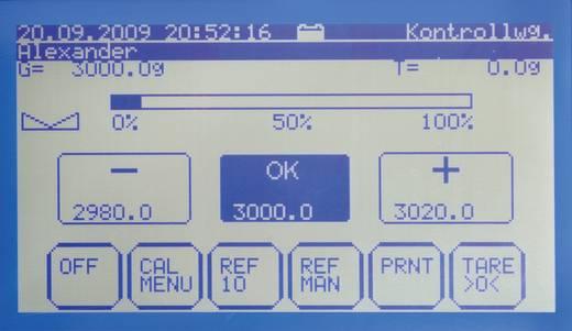 Tischwaage Kern FKT 65K0.2L Wägebereich (max.) 65.1 kg Ablesbarkeit 0.2 g netzbetrieben, batteriebetrieben, akkubetrieben