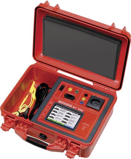 Benning ST 750 A SET Gerätetester-Set DIN VDE 0701/702, BGV A3, BetrSichV, DIN VDE 0751-1 Typ B, BF, CF, ÖVE/ÖNORM E 870