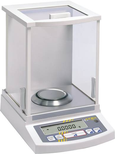 Laborwaage Kern ABJ 80-4M Wägebereich (max.) 83 g Ablesbarkeit 0.001 g netzbetrieben Weiß