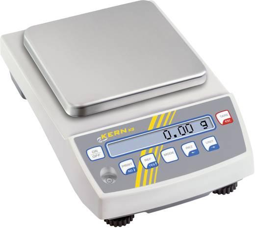 Präzisionswaage Kern KB 1200-2N Wägebereich (max.) 1.2 kg Ablesbarkeit 0.01 g netzbetrieben, akkubetrieben Silber