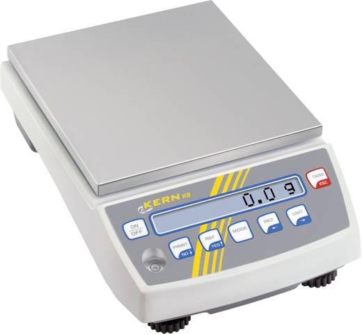 Präzisionswaage Kern KB 6500-1NM Wägebereich (max.) 6.5 kg Ablesbarkeit 0.1 g netzbetrieben, akkubetrieben Weiß