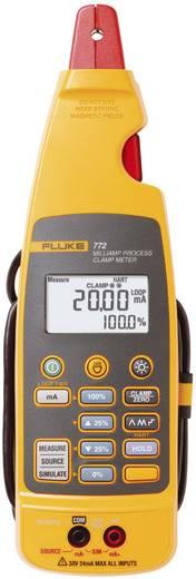 Stromzange, Hand-Multimeter digital Fluke 772 Kalibriert nach: DAkkS Prozess-Stromausgabe CAT II 300 V Anzeige (Counts):