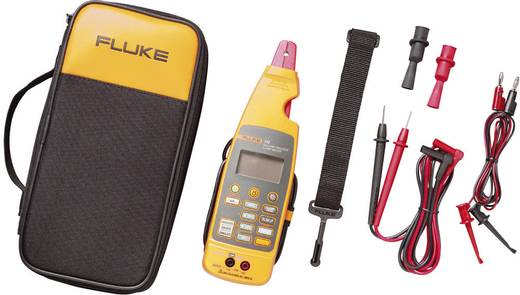 Stromzange, Hand-Multimeter digital Fluke 772 Kalibriert nach: Werksstandard Prozess-Stromausgabe CAT II 300 V Anzeige (