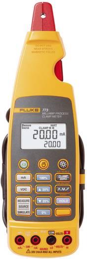 Stromzange, Hand-Multimeter digital Fluke 773 Kalibriert nach: ISO Prozess-Stromausgabe CAT II 300 V Anzeige (Counts): 1
