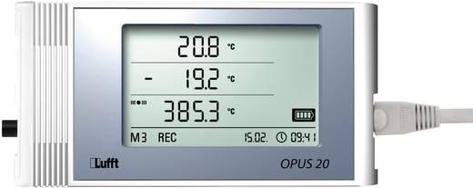 Multi-Datenlogger Lufft Messgröße Luftfeuchtigkeit, Temperatur, Spannung, Strom -20 bis +50 °C 0 bis 95 % rF 0 bis 1