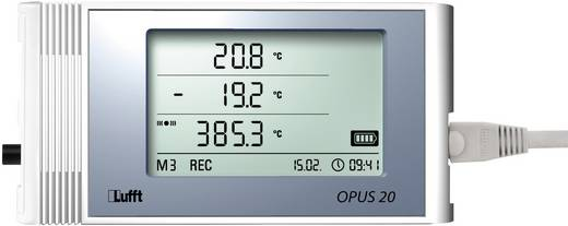 Multi-Datenlogger Lufft Opus20 E, PoE Messgröße Luftfeuchtigkeit, Temperatur, Spannung, Strom 0 bis 95 % rF 0 bis 1 V