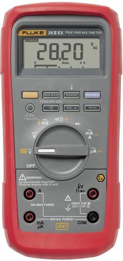 Fluke 28 IIEX Hand-Multimeter digital Kalibriert nach: DAkkS Wasserdicht (IP67), Ex-geschützt CAT III 1000 V, CAT IV 600